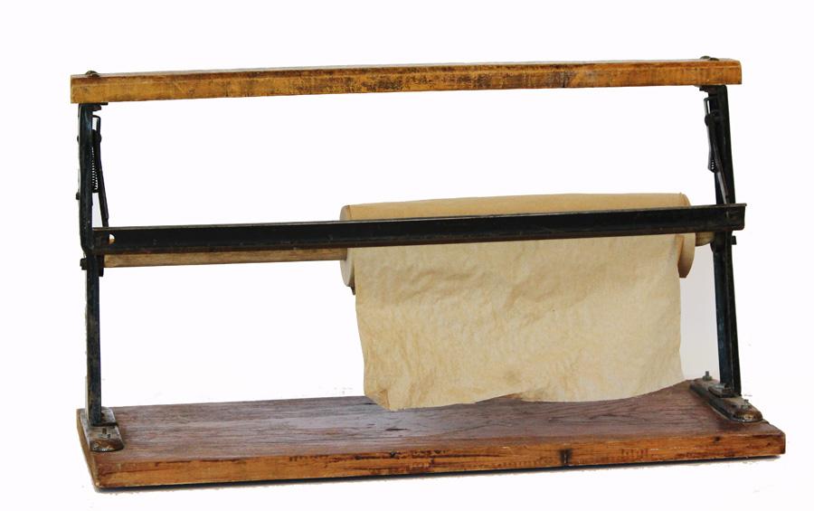 Antique Farmhouse Butcher Paper Holder-