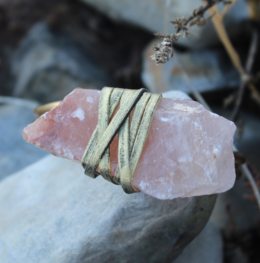 Crystal Calcite Bracelet- Rock it Gypsy Designs-