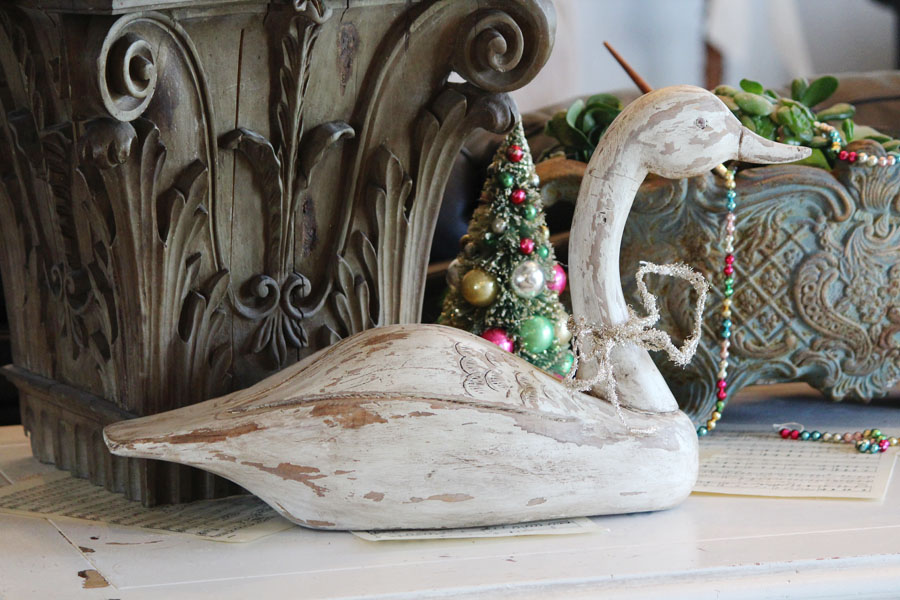 Antique Handcarved Wood Duck Decoy Gorgeous-