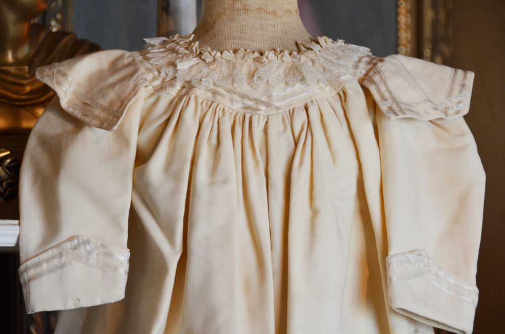 Antique French Childs Dress Gorgeous-