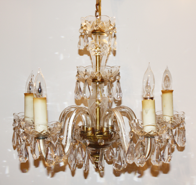 Antique Crystal Chandelier ShowStopper Brilliance-
