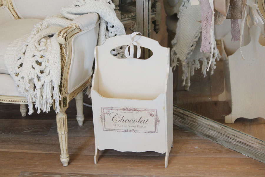 Antique French Magazine Stand Gorgeous-