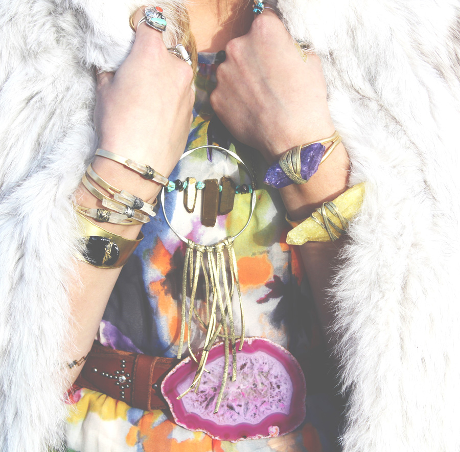 Pink Agate Belt Buckle- Rock it Gypsy Designs-