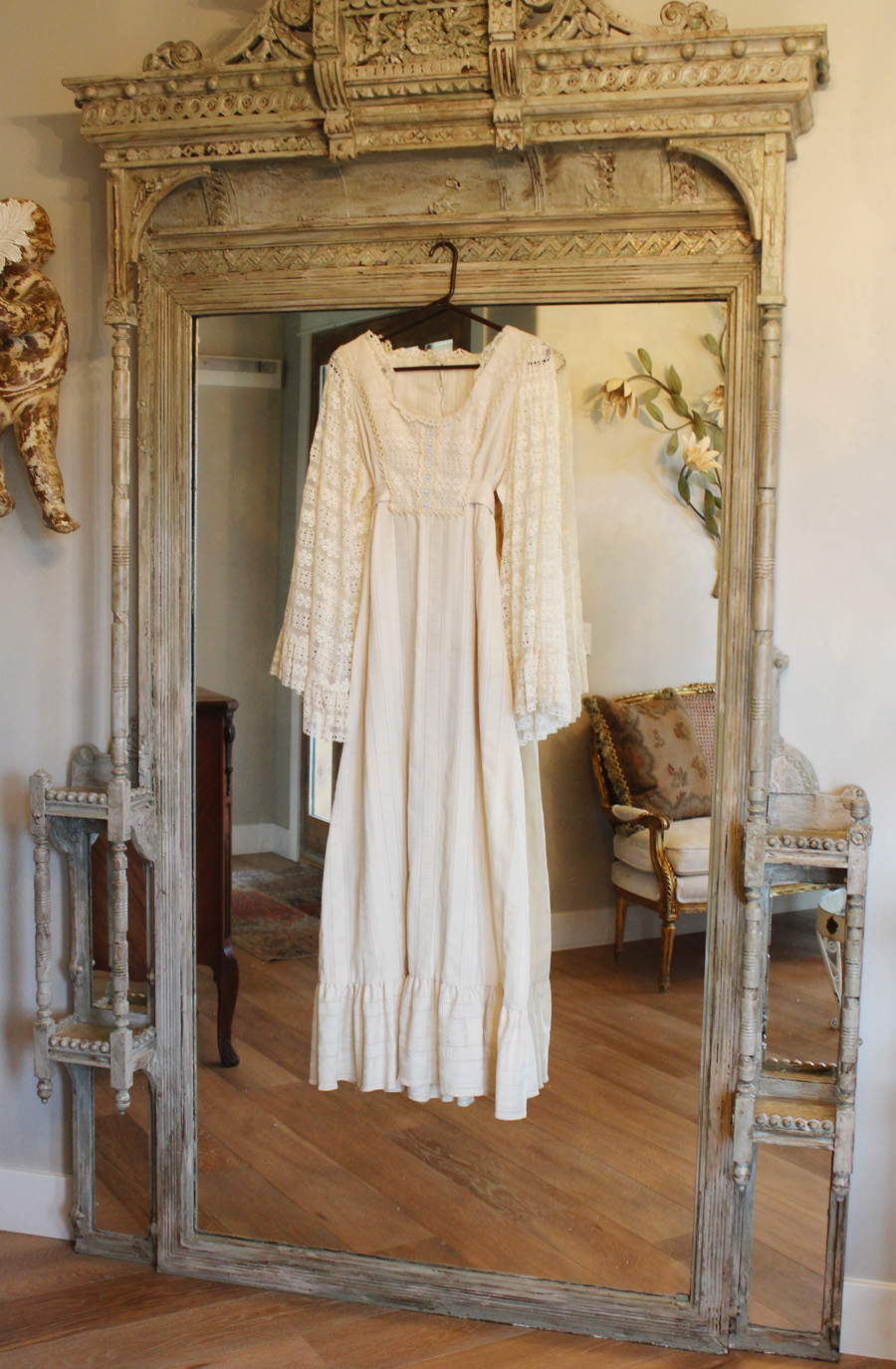 Vintage Gorgeous Antique Lace Wedding/Day Dress-