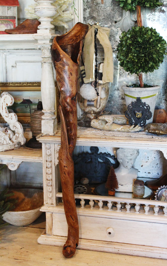 Incredible Find Rare Piece of Drift Wood Vase-