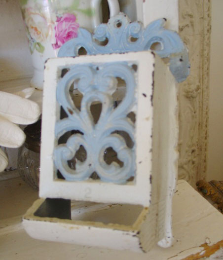 Vintage Cast Iron Wall Dispenser-