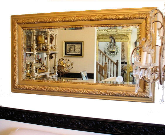 OMIGOSH The Best Xlrg VICTORIAN Chunky Frame MIRROR