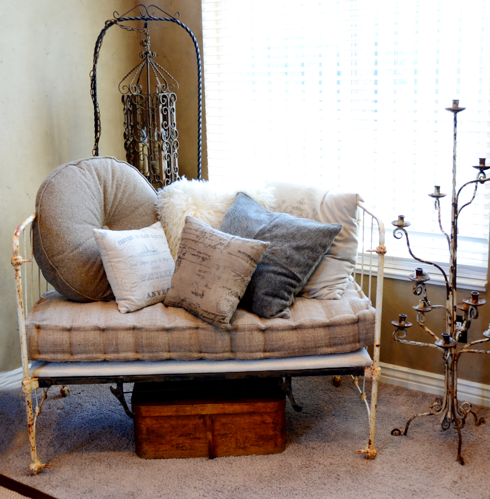 Incredible One of a Kind Antique French Settee-