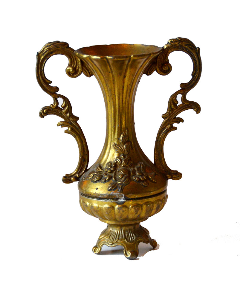 Antique Art Nouveau Footed Vase-