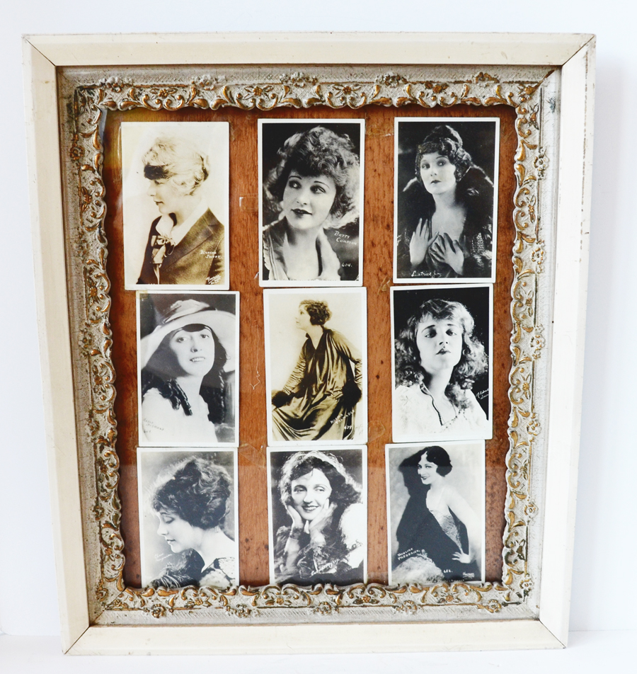 1920s Flapper Framed Photographs Gorgeous