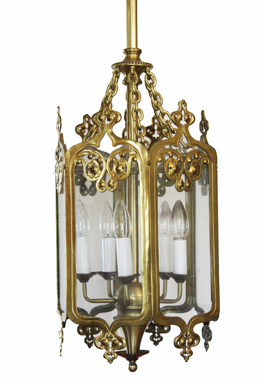Antique Bronze Lantern Hanging Chandelier Gorgeous