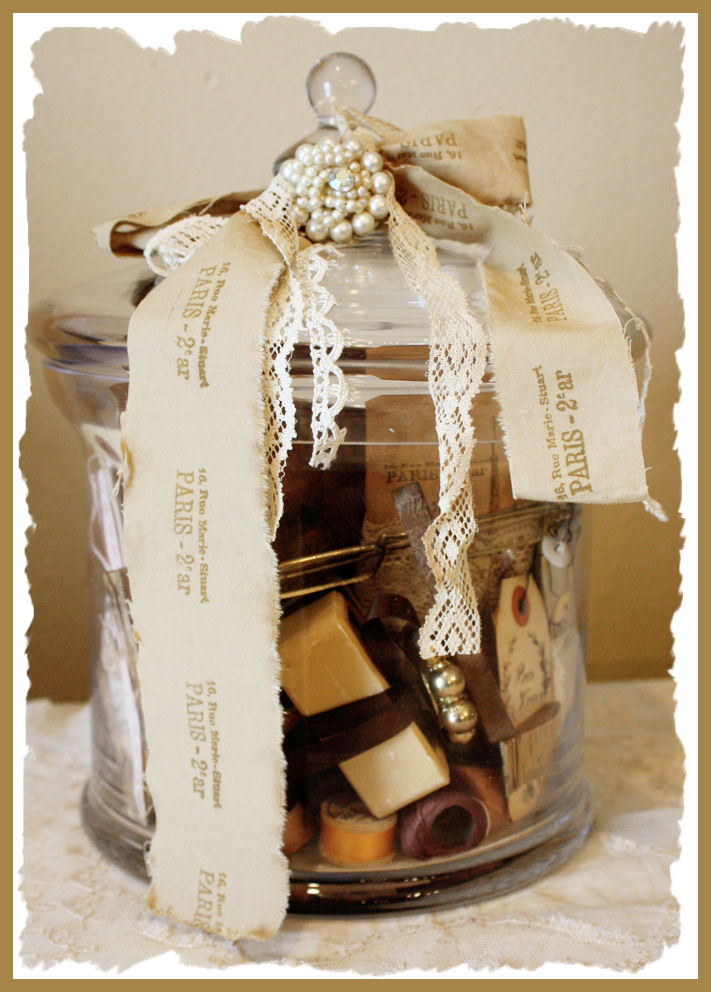 Jar of Parisian Curiosities-Antique
