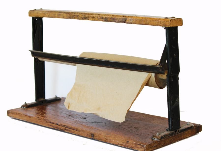 Antique Farmhouse Butcher Paper Holder