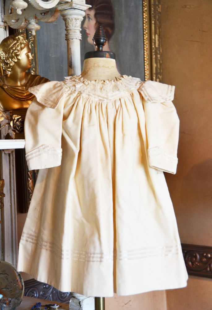 Antique French Childs Dress Gorgeous