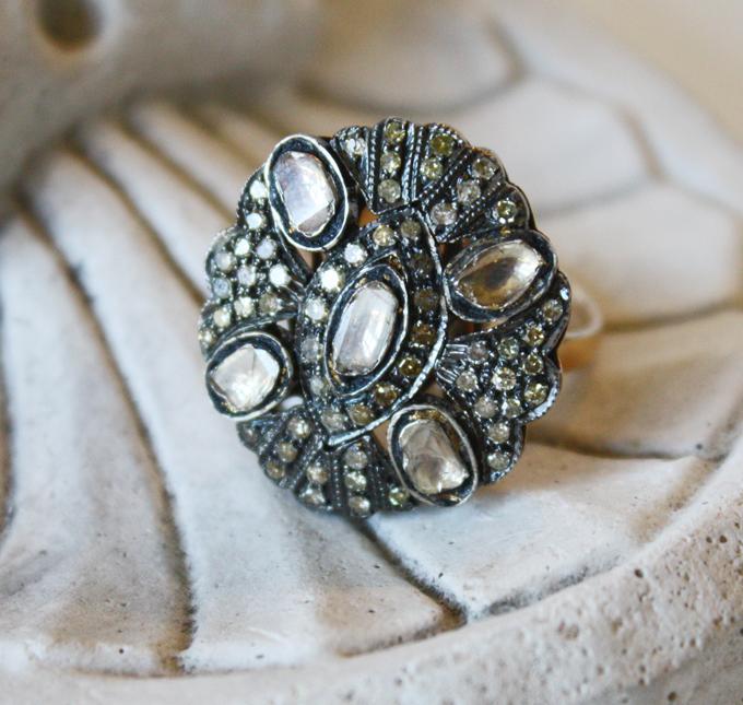 Vintage Brides Diamond Ring-