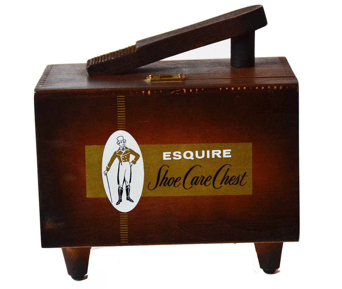 Vintage Esquire Shoe Storage box
