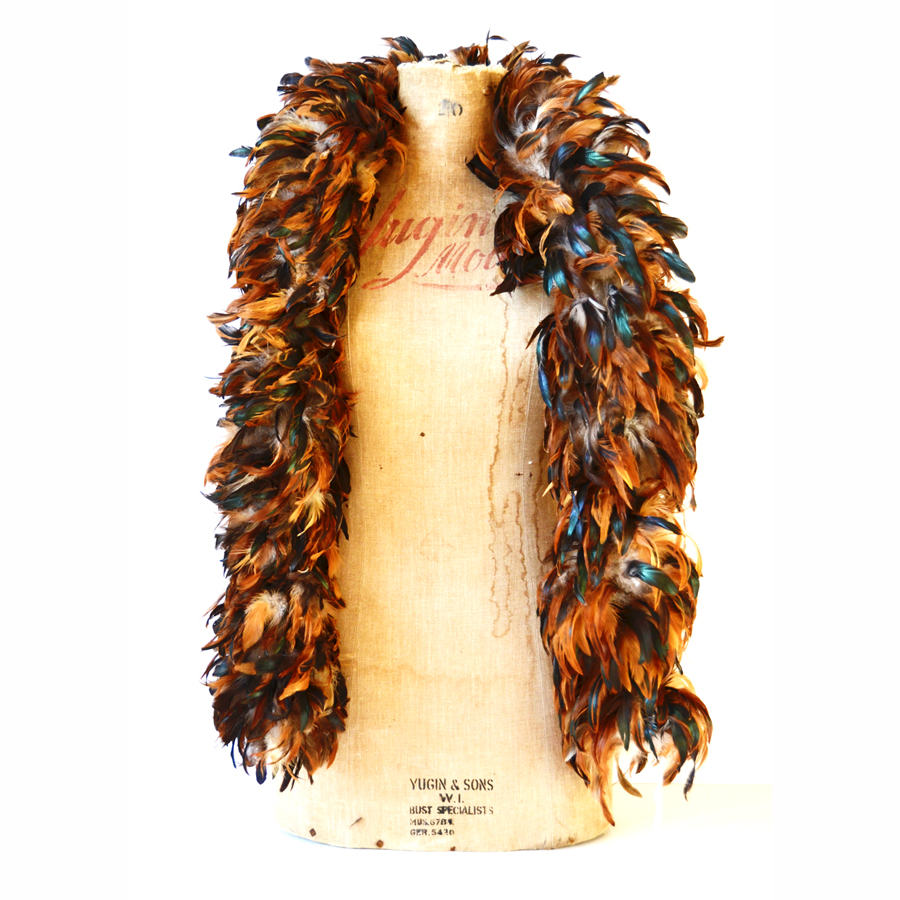 Incredible Hand Strung Feather Boa
