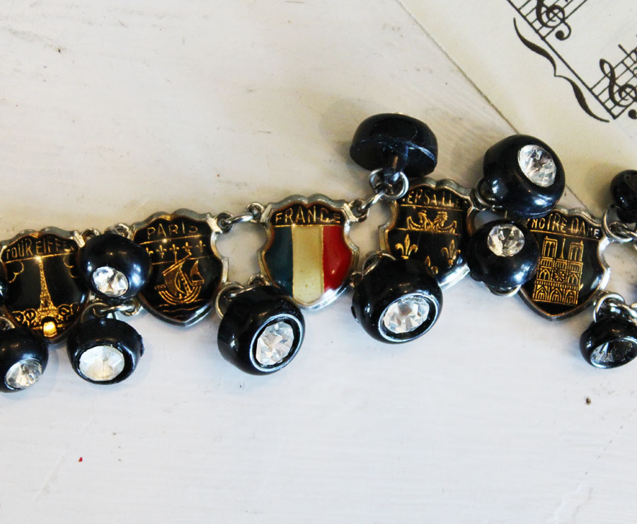 Antique Paris Souvenir Bracelet Gorgeous-