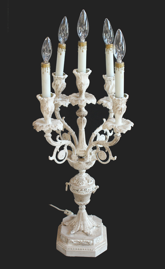 Antique French Candelabra Girandole-