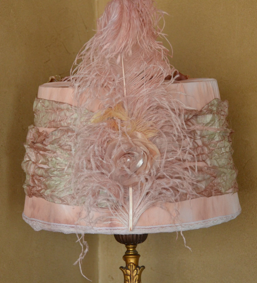 Xlrg Custom Made Lingerie Lamp Shade One of a Kind-