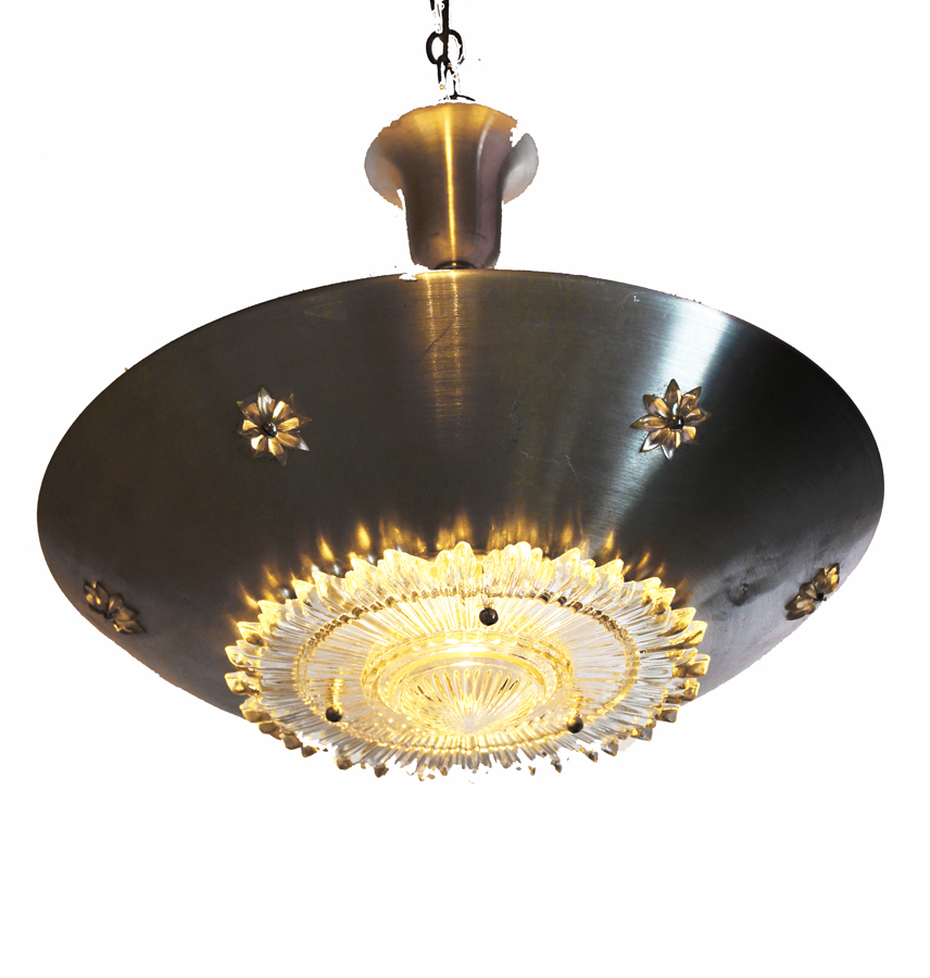 Hollywood Regency Glam Hanging Light/Chandelier-