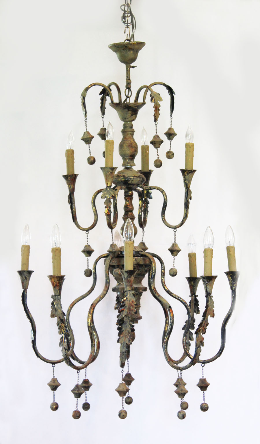 Monumental Xlarge Italian Grand Antique Chandelier
