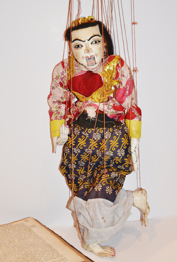 Incredible Antique Hand Carved & Painted Marionette Puppet