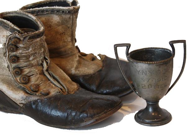 Rare Antique Petite Trophy 1910 Award-