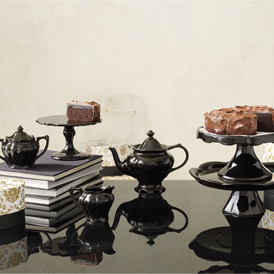 Rococo Noir -Teapot-