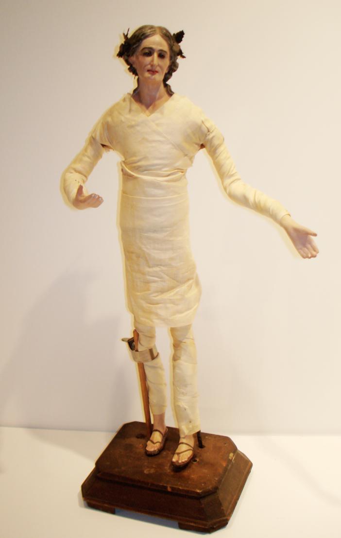 1863 Saint Ann Creche Figure Santos-