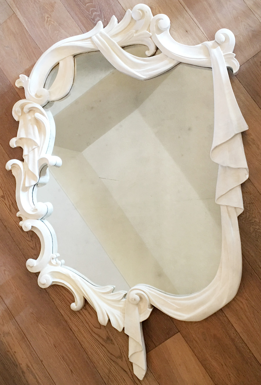 1920s Antique Salt Lake City Sorority House Mirror Gorgeous