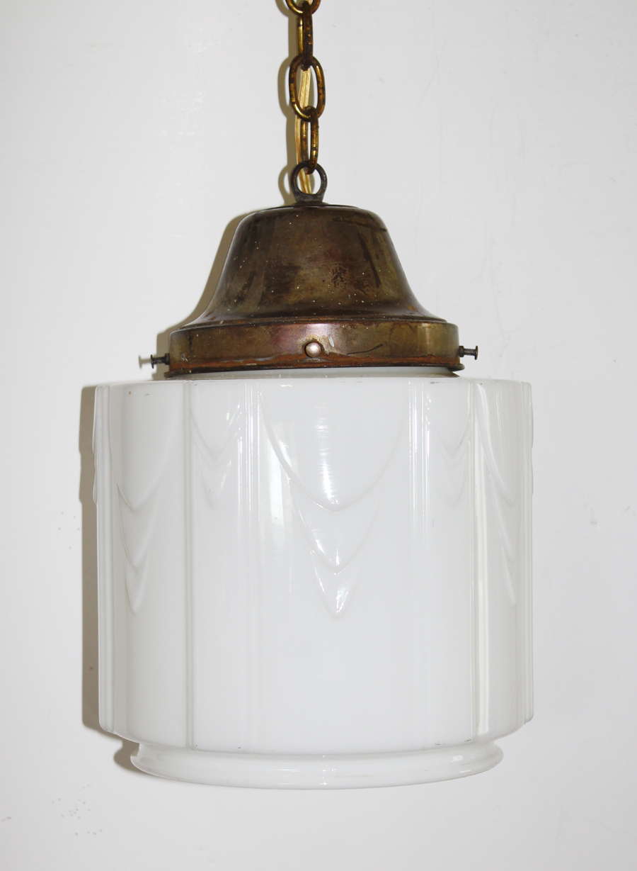 Old French School House Pendant Light Gorgeous Deco